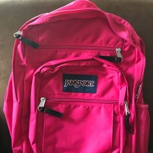 Jansport Big Student pink backpack NWT